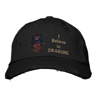 Little Dragon Embroidered Hats
