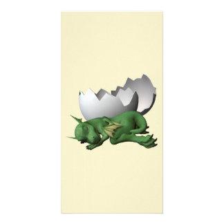 Little Dragon Photo Greeting Card