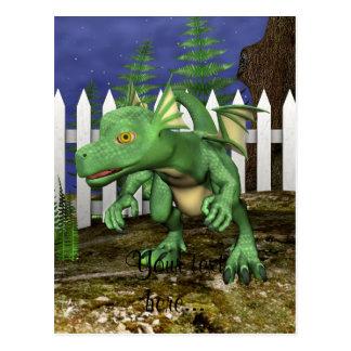 Little Dragon Postcard