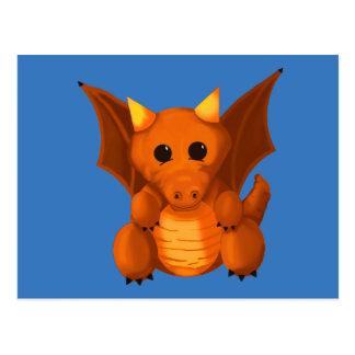 """Little Dragon"" Postcard"