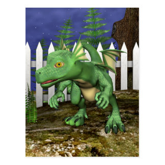 Little Dragon Post Card