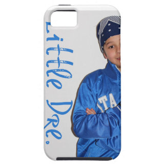 Little Dre Blue Logo Tough iPhone 5 Case