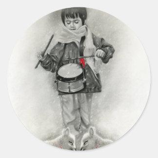 Little drummer boy Sticker