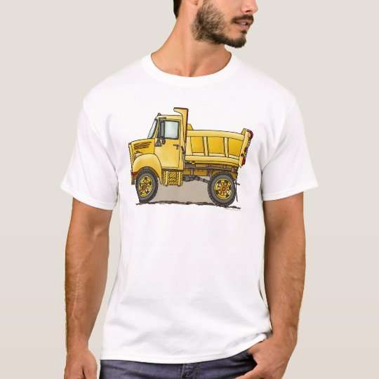 Little Dump Truck Mens T-Shirt