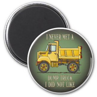 Little Dump Truck Operator Quote Magnet