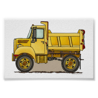 Little Dump Truck Poster