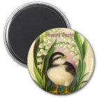 Little Easter Bird Vintage Magnet
