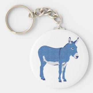 Little Eddie Donkey's Not Really Blue Key Ring