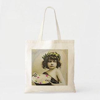 Little Edwardian Artist Tote Bag