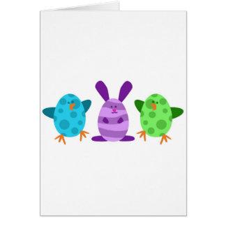 Little Egg Critters Card