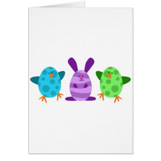 Little Egg Critters Greeting Card