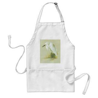 Little Egret - Egretta garzetta Apron