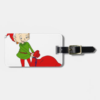 Little elf bag tag