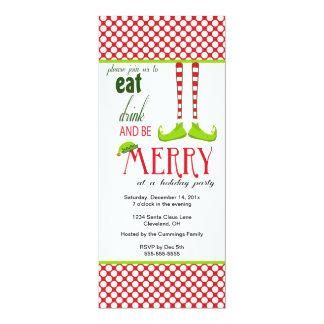 Little Elf Holiday Invitation