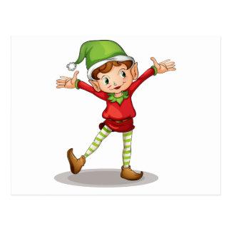 Little elf postcard