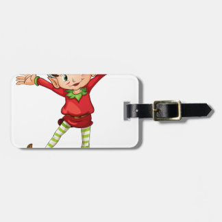 Little elf tag for luggage