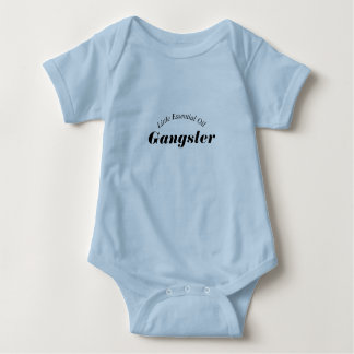 Little Essential Oil Gangster Onsie Baby Bodysuit