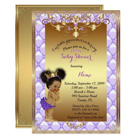 Little etnic Princess, Baby Shower Invitation, Card