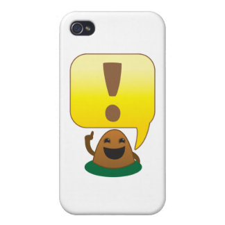 little exclamation covers for iPhone 4