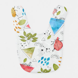 Little explorer creepy crawly bugs bib