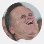 Little Face, Big Chuckles Round Sticker