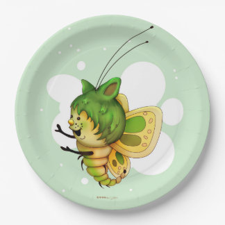 "LITTLE FAIRY 2 CARTOON  Paper Plates 9"" 9 Inch Paper Plate"