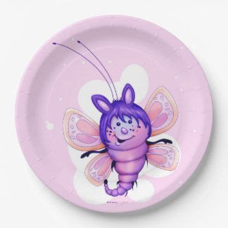 "LITTLE FAIRY 3 CARTOON  Paper Plates 9"" 9 Inch Paper Plate"