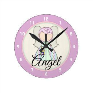 Little Fairy Angel Design 1 Clock