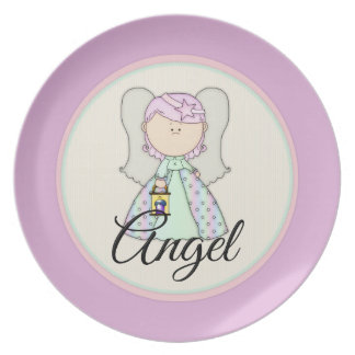 Little Fairy Angel Design 1 Party Plate
