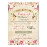 Little Fairy Birthday Invitation 5 x 7