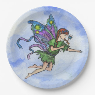 """Little Fairy"", Paper Plates 9 in"