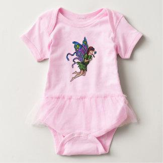 """Little Fairy"" Pink Baby Tutu Bodysuit"