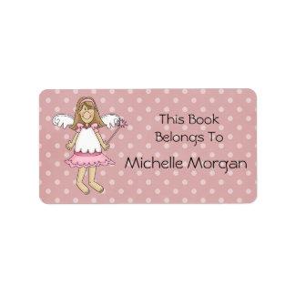 Little Fairy Princess Bookplate Label Address Label
