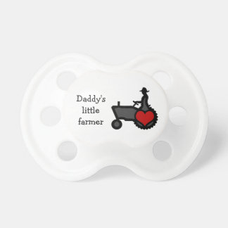Little Farmer Baby  Cute Tractor with Heart Dummy