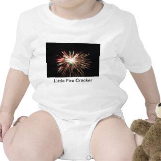 Little Fire Cracker  Sleeper Bodysuit