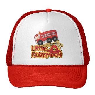 Little Fireman, Caucasian Mesh Hat