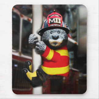 Little Fireman Mouse Mat