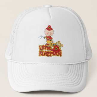 Little Fireman Tshirts and Gifts Trucker Hat