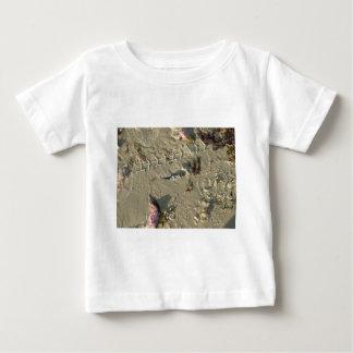 little fish on beach baby T-Shirt