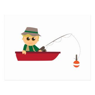 Little Fisherman Postcard