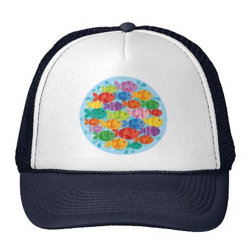 Little Fishy Friends Trucker Hats