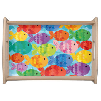 Little Fishy Friends Serving Tray