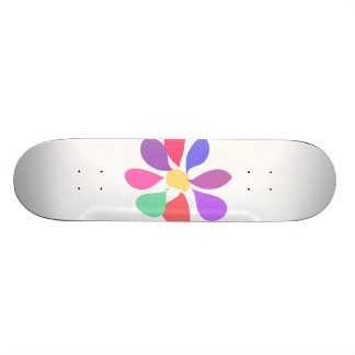 Little Flower Custom Skateboard