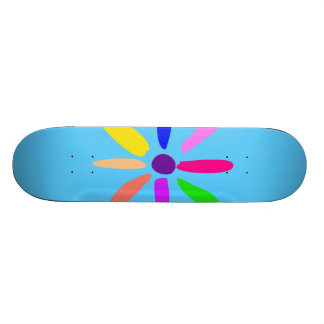 Little Flower Skateboard Deck