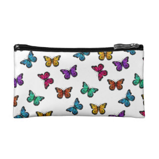 Little Flutters Small Cosmetic Makeup Bags