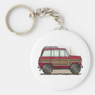 Little Four Wheel Station Wagon Keychains