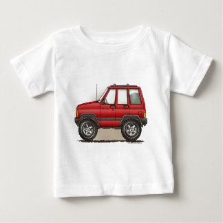 Little Four Wheel SUV Car Baby T-Shirt