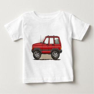 Little Four Wheel SUV Car Baby T-Shirt