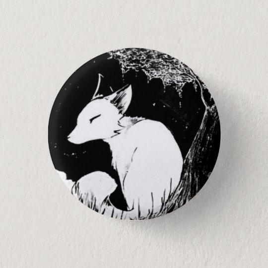 Little Fox 3 Cm Round Badge