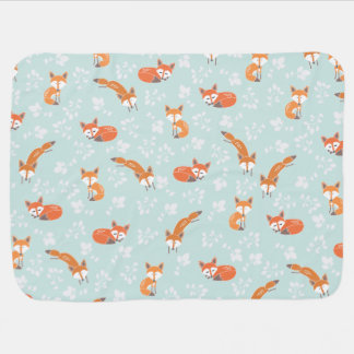 Little Fox Baby Blanket
